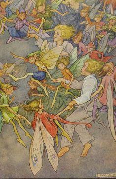 1940s Vintage Fairies by Helen Jacobs
