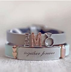 KEEP-Collective: White snake band, mrs, pave letter, ring, mint band, stacked hearts, together forever bar, love rose quartz mini geo bar.