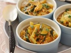 Zucchini, My Favorite Food, Favorite Recipes, Eat Smarter, Thai Red Curry, Dinner, Ethnic Recipes, 20 Min, Risotto