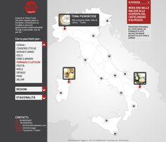 Cliente: Italian Travel Food  Progetto: sito web istituzionale - home page