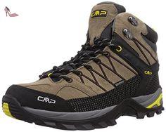 CMP  Rigel, Chaussures de trekking et randonnée homme - marron - Braun (TEAK Q907), 41 EU - Chaussures cpm (*Partner-Link)