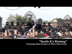 """Art Of Dying Feat. Adam Gontier - """"Inside It's Raining"""" live at Edgefest, Little Rock, Arkansas - YouTube I was there!!!"""