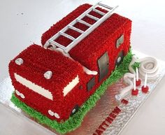 Fire Truck Firefighter Birthday Party