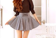 High Waisted Flowy Skirts