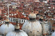 Venice, Domes of Basilica San Marco, Italy