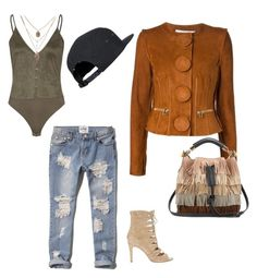 """""""Workin you in overdrive"""" by jbanna on Polyvore featuring Abercrombie & Fitch, Givenchy, Joie and Chloé"""