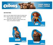 Free Printables from the DreamWorks Movie The Croods | SKGaleana