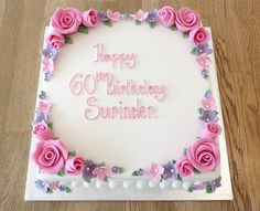 pink square cake - Google Search