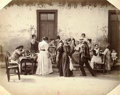 Thumb la cueca en 1895 zona central Chili, Argentine, Old Photos, South America, Images, Black And White, Painting, Travel, Beautiful