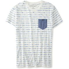 Aeropostale Tie-Dye Chambray Pocket Tee (170 ARS) ❤ liked on Polyvore featuring men's fashion, men's clothing, men's shirts, men's t-shirts, tops, antique cream, mens cream dress shirt, mens tie dye shirts, mens tie dyed t shirts and aeropostale mens t shirts