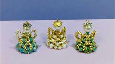 Seed Bead Earrings, Seed Beads, Beaded Ornaments, Micro Macrame, Bead Weaving, Jewlery, Pendants, Projects, Beadwork