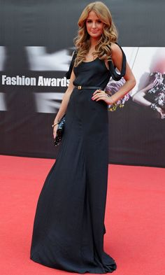 Millie Mackintosh At The Scottish Fashion Awards, 2012