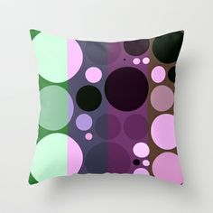 My ever changing moods Throw Pillow by aapshop - $20.00