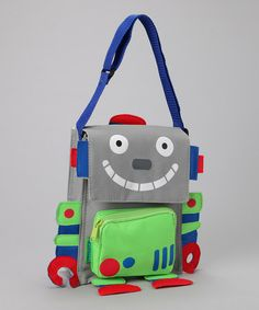 cute robot lunchbox or bag