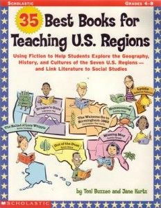 Teaching US Geography with Living Books  - Novels Included in 35 Best Books for Teaching U.S. Regions.  Check them out here.