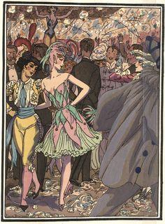 Pierre Brissaud 'Les petites alliées' (1927)