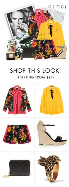 """""""Presenting the Gucci Garden Exclusive Collection: Contest Entry"""" by danijelapoly ❤ liked on Polyvore featuring Gucci and gucci"""