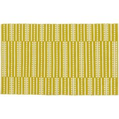 Bucato Yellow Rug in All Rugs | Crate and Barrel