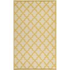 Martha Stewart Vermont Ivory/ Gold Wool Rug (8' x 10') | Overstock.com Shopping - Great Deals on Martha Stewart 7x9 - 10x14 Rugs