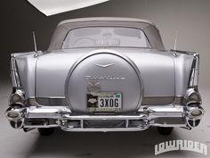 1957 Chevrolet Bel Air Rear End
