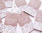 lace name tags - Google Search