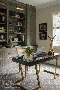 Muse Interiors   Portfolio   HOME OFFICE