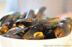 Małże duszone w białym winie (Moules Marinières) Fish And Seafood, Under The Sea