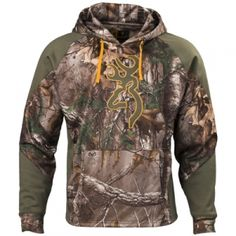 e8366d19be28b Browning Men s Wasatch Two-Tone II Hoodie - Realtree Xtra - Mills Fleet  Farm Sweatshirts