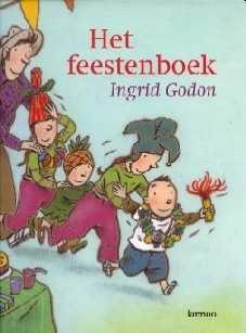 Heel veel gezellige feesten, waaronder kerst, staan in dit feestenboek...
