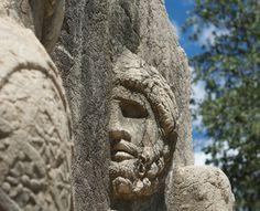 Statuary, Mount Nemrut, Greece
