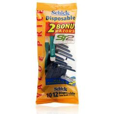 FREE Schick Disposable Razors   $1.03 Moneymaker at Walmart!