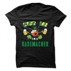 St Patrick - Kiss me - RADEMACHER - #tshirt headband #geek hoodie. GUARANTEE => https://www.sunfrog.com/Camping/St-Patrick--Kiss-me--RADEMACHER.html?68278