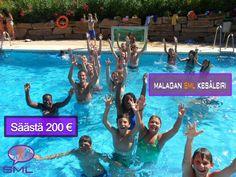Malagan Kesäleiri SML  Malagan SML Kesäleireistä 200 € alennus!     Kesän leirit järjestetään opiskelija-asuntolassa Barcelonassa, Madridissa, Malagassa, Marbellassa, Salamancassa ja Valenciassa, joissa opiskellaan espanjaa 4 tai 5 tuntia päivässä. Saattamalla yhteen opiskelijoita kaikkialta maailmasta, joista 60 % leiriläisistä on espanjalaisia, ohjelmat auttavat kansainvälisiä leiriläisiä ystävystymään samanikäisten espanjalaisten leiriläisten kanssa, hankkimaan syvemmän ymmärryksen…