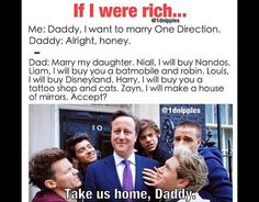 Omg I wish I had a rich daddy that would do that for me XD