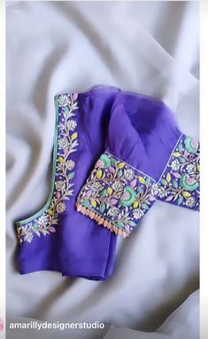 Blouse Designs Silk, Floral Tie, Indian, Embroidery, Model, Bags, Accessories, Fashion, Handbags