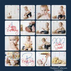 I'm Topsy Turvy: Baby Boy's Smash Cake Session