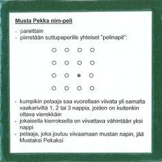 Musta Pekka-nim, 3-> lk.