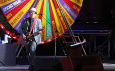 Elvis Costello at the Orpheum Theatre, Vancouver - April 10, 2012. Robyn Hanson photo.