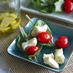 Basil Marinated Cheese Curds