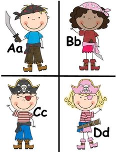 """Free """"Pirate Themed Word Wall"""" from Fredia Shumway on TPT"""