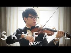 Adele - Skyfall - Jun Sung Ahn Violin Cover.  I didn't like this song before... but now lol.  I love this!