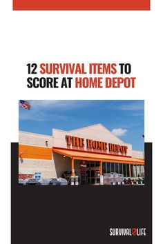 Any experienced prepper knows that there are some must-have survival items everyone needs to brave a disaster. Check out this roundup of the most common survival gear you can get from your local Home Depot. What other survival items do you think you can get at Home Depot? Let us know in the comment section below! #HomeDepot #SurvivalItems #SurvivalKit