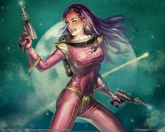 PULP characters are often. The Ultimate Collection of Science Fiction Pin-Up Art [NSFW] Science Fiction Art, Pulp Fiction, Heroine Marvel, Graphisches Design, Arte Tribal, Art Manga, The Lone Ranger, Classic Sci Fi, Space Girl