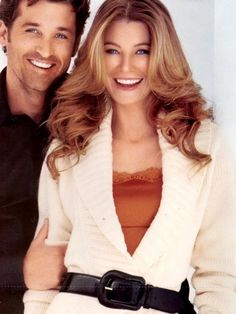 I couldn't remember the other guys that came in to audition, I only remembered him. - Ellen Pompeo