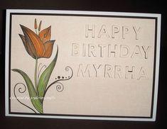 Joylovescrafts   docrafts.com I Card, Happy Birthday, Projects, Art, Happy Brithday, Log Projects, Art Background, Blue Prints, Urari La Multi Ani