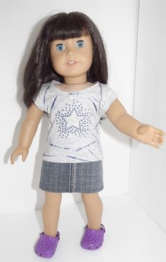 """A Star is Born outfit for American Girl, Maplelea, Our Generation 18"""" dolls"""