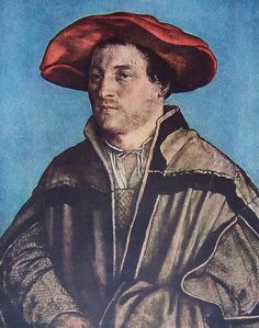 Hans Holbein The Younger -self portrait