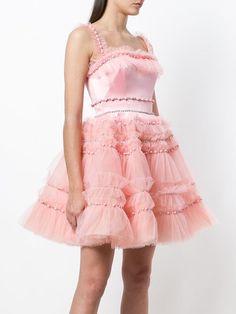 Designer Evening Dresses, Formal Evening Dresses, Formal Gowns, Ruffle Dress, Pink Dress, Dress Up, Casual Day Dresses, Cute Dresses, Kpop Outfits