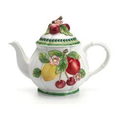 Villeroy U0026 Boch French Garden Fleurence Figural Teapot