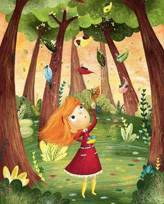 Nature is full of wonderful little things enjoyed a day out in the garden today :) Book Illustration Art, Animal Illustration Art, Illustration, Art Drawings, Art Drawings For Kids, Tree Illustration, Art, Cute Drawings, Book Art